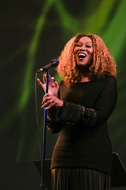 Yolanda Adams, Nancy Wilson Tribute, Aaron Davis Hall, NYC 2019