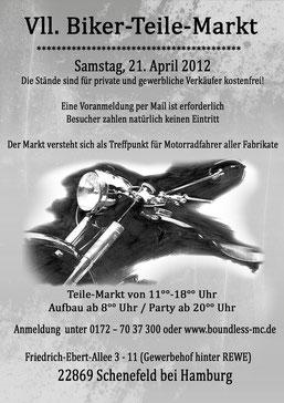 Flyer aus 2012
