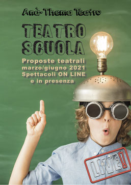 Clicca l'immagine per scaricare il nuovo libretto delle proposte per le scuole marzo - giugno 2021