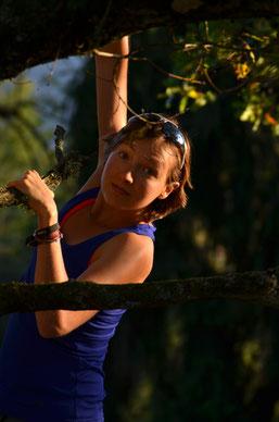 kleines Früchtchen am Baum