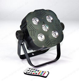 LED Scheinwerfer mieter, quad par profile rgbw mieten