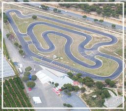 El circuito de kart