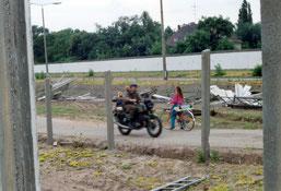 30 Jahre Mauerfall- Treptowerstr. Neukölln