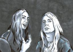 Raik und Andreas Adam-Protagonisten des Comics