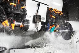 Metallbearbeitungswerkzeuge, CNC-5-Achsen Bearbeitungssystem Thaa AG, Felben