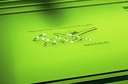 Laserbeschriftung auf Metall, Chromstahl, Aluminium, NE-Metalle, Thaa AG Felben