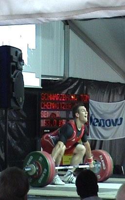 Tom Schwarzbach 2011 Endkampf BL mit 153kg