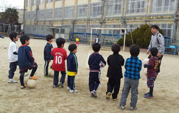 サッカー教室1