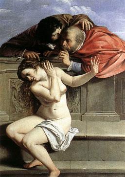 Artemisia Gentileschi - Susanna e i Vecchioni