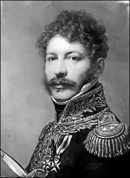 Général Coehorn, commandant la 1ère,brigade, 22ème division d'infanterie