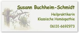Susann Buchheim-Schmidt, Heilpraktikerin und klassische Homöopathie