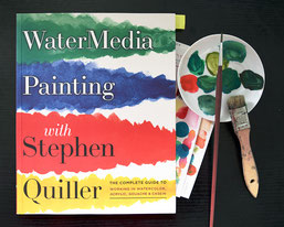 """Watermedia Painting with Stephen Quiller"", 2008, Watson-Guptill Publications, ISBN-10: 0823096882 ISBN-13: 978-0823096886"