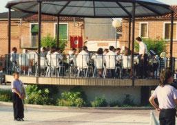 Concierto Plaza de la Constitución, Banda El Burgo de Ebro, 1992
