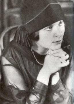 Elsa Triolet 1925 © Alexander Rodtschenko