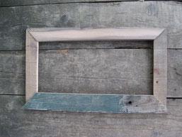 Ulme/Kiefer, innen: 44,5x20 cm; außen: ca. 58x34 cm