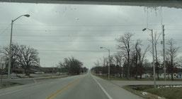 in Missouri auf der US-63 zwischen Rolla und Houston