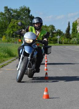 Grundfahruebungen fuer Zweiradklassen