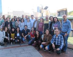 Posturología 12º promoción. Primer modulo impartido por el Dr. P-M Gagey, Dr. F. Ortega y Dr. Aittor Loroño.
