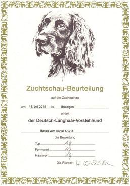 Zuchtschau Büdingen (Jugendklasse)