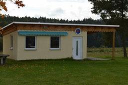2012/2013: Das neue Vereinsheim wurde errichtet