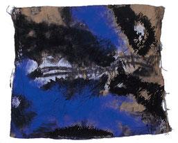 "Eduard Bousrd Bangerl, ""cythraw"", Mischtechnik / Molino, 62 x 76 cm,  1997"