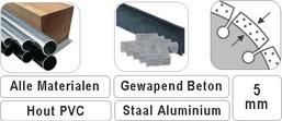 voor het slijpen van steen beton gewapend beton staal hout aluminium eigenlijk gewoon alles