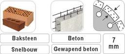 slijpschijf met vaste flens voor geheel tegen de muur te slijpen met een haakse slijper verkrijgbare diameters zijn 115mm 125mm en 230mm