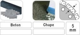 slijpschijf voor het afbramen en vlakschuren van beton en chape met een hilti machine