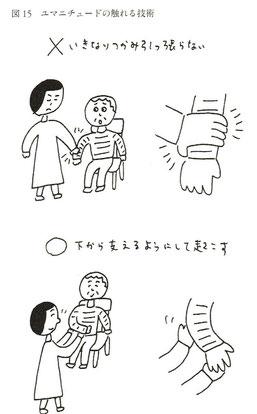 ユマニチュードの触れる技術