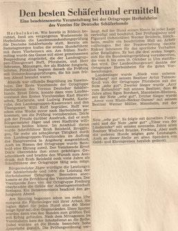 Herbolzheimer Zeitung 04.September 1965