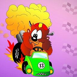 Auto Spiele: Fun-Racer Kart-Spiele