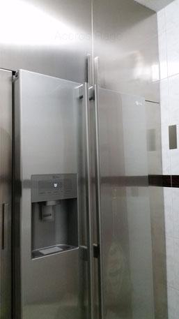 puerta de mueble de cocina acero inoxidable al mejor precio.
