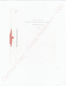 OSJ - Verfassung