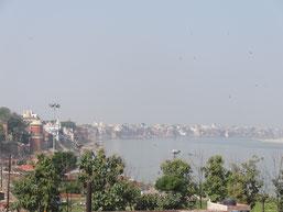 Varanasi, sur les bords du Gange