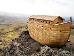 La réplique de l'arche de Noé