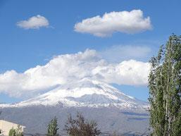 Le mont Ararat où s'échoua l'arche de Noé