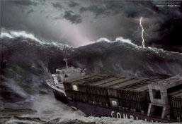 Attention aussi au mal de mer et aux prises d'otage...