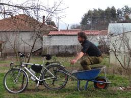 Le Ben Hur des jardins! - Course de char