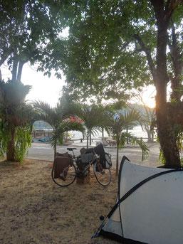 Dernier campement en Thaïlande