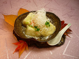 揚げ出し豆腐 柚子風味