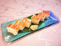 たらば蟹の押寿司