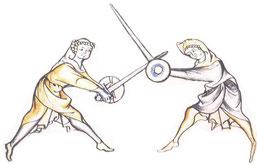 Schwert und Buckler