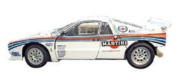 vettura da rally lancia 035 martini racing grafica completa di pubblimais a torino