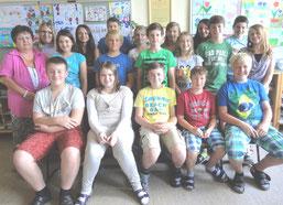 2. NMS mit Klassenvorstand Elfriede Meier