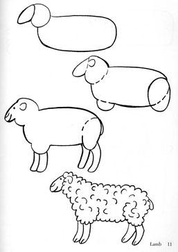 Mokomės piešti gyvūnus
