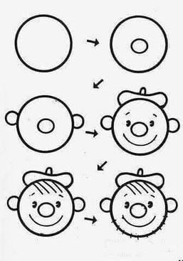 Mokomės piešti iš apskritimo