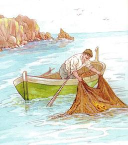 P)asaka apie žveją ir auksinę žuvelę