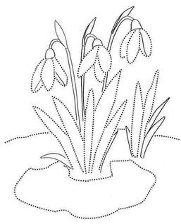 Lavinam rankelę apvedžiidami gėles