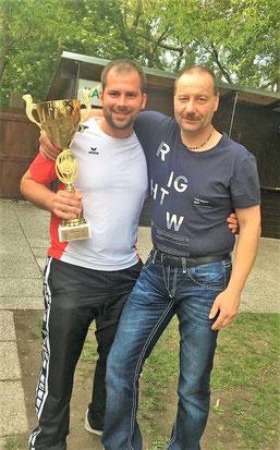 DVORAK Patrick - STADTMEISTER 2019 mit seinem Coach Alex