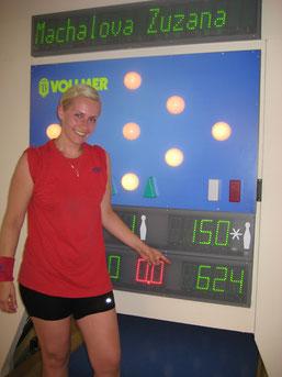 Siegerin bei den Damen: MACHALOVA Zuzana